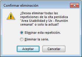 Error de Usabilidad de la aplicación Microsoft Outlook