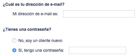No es una buena idea utilizar etiquetas demasiado largas en el formulario web
