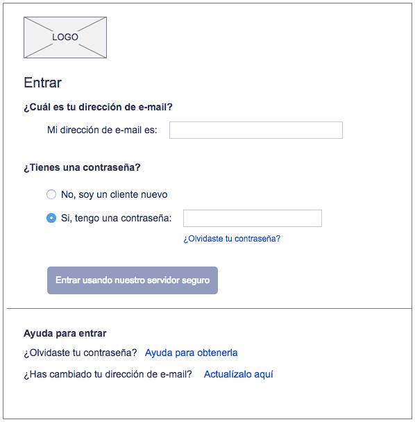 Las etiquetas del formulario web son demasiado extensas y no ayudan al usuario en la legibilidad del texto y entendimiento del mismo.